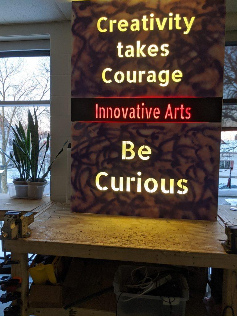 Innovative arts classroom