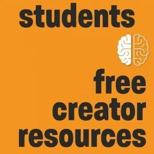 free creator resources for students