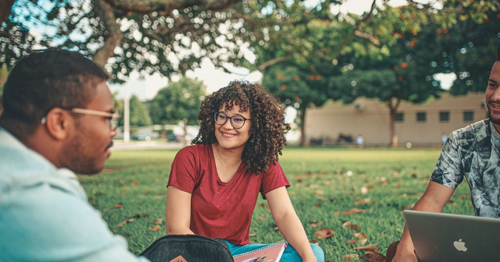 Getting outside can be an example of a way to increase student autonomy